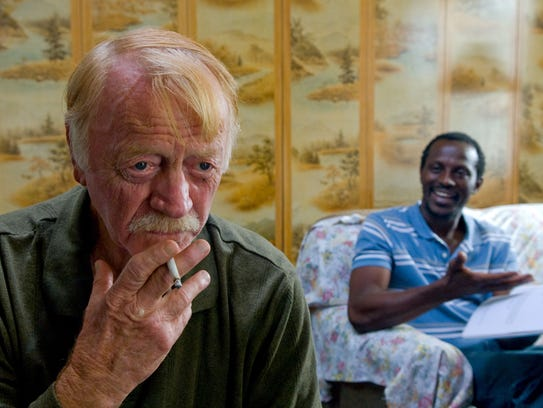 Red West was a mysterious old man while Souleymane