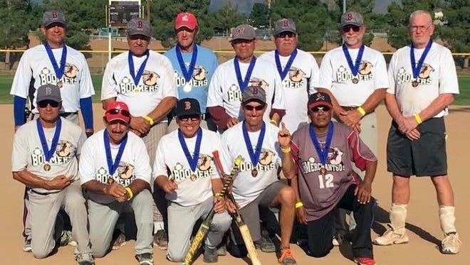The Boomers are the premier senior division softball team of New Mexico after capturing the New Mexico Senior Olympics Softball Championship for the 60-and-over age division. The team is made up of senior ball players from Deming and Silver City. The Boomers swept through their age division during the tournament held Sept. 9-12, 2016 in Las Cruces, N.M.