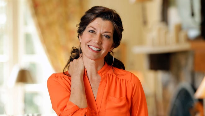 In this April 25, 2016, file photo, singer Amy Grant poses for a portrait at her home in Nashville, Tenn.