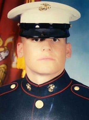Former Marine Cpl. Jason Simcakoski, 35, of Stevens Point, Wis.