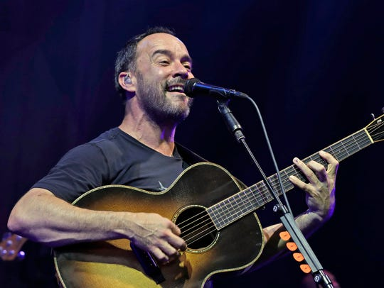 Dave Matthews Band will perform May 11 at Nashville's Bridgestone Arena.