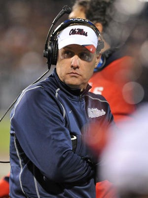Ole Miss is now a scrimmage away from being through two full weeks of spring football. So, far Rebels coach Hugh Freeze has said he is pleased with the progress his team has made.