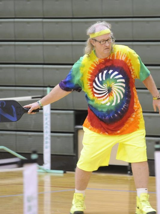 Pickleball second