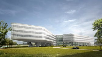 The China headquarters office of Johnson Controls International, slated to open in June 2017