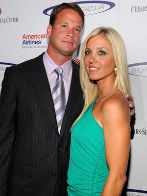 Lane Kiffin and wife Layla Kiffin, from 2011.