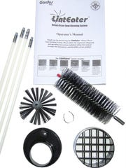 The LintEater Dryer Vent Lint Removal Kit helps remove