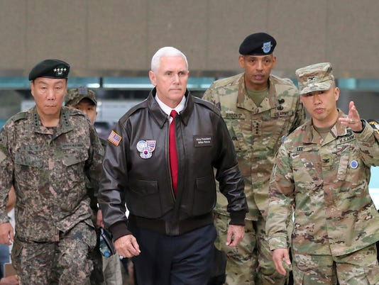 AP SOUTH KOREA US PENCE KOREA I KOR