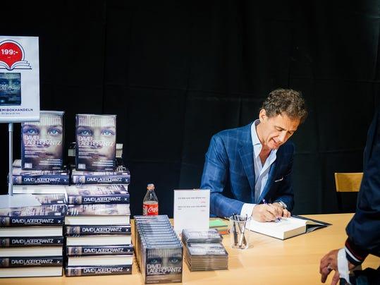SWEDEN-LITERATURE-MILLENNIUM-TRILOGY
