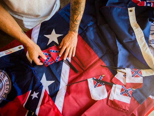 Quinn Flags of Hanover issued a statement detailing the company's decision to remove the Confederate flag and all variations of it from their inventory in light of the recent shooting in Charleston, South Carolina