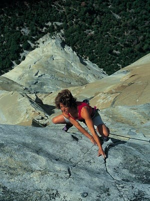 Hill has spent the last several decades proving that women not only have a place in the climbing world, they can dominate.