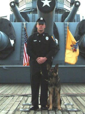 Gloucester City Police are mourning the loss of the department's first K9 offcer, Marco.