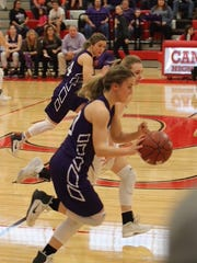 Mason High School defeated district rival San Saba 37-35 Saturday to advance to the UIL Class 2A girls state basketball tournament in San Antonio.