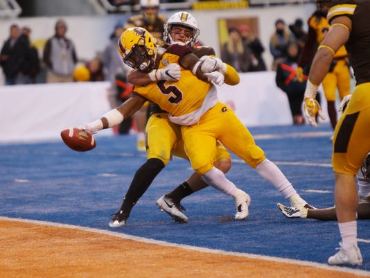 NCAA Football: Potato Bowl-Central Michigan vs Wyoming