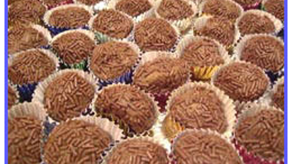 Brazilian Brigadeiro Truffles (Photo from www.CookBrasil.com)