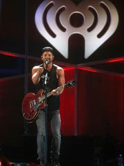 Kip Moore performs at the iHeartCountry Festival at the Frank Erwin Center on Saturday, May 6, 2017, in Austin, Texas. (Photo by Jack Plunkett]/Invision/AP)
