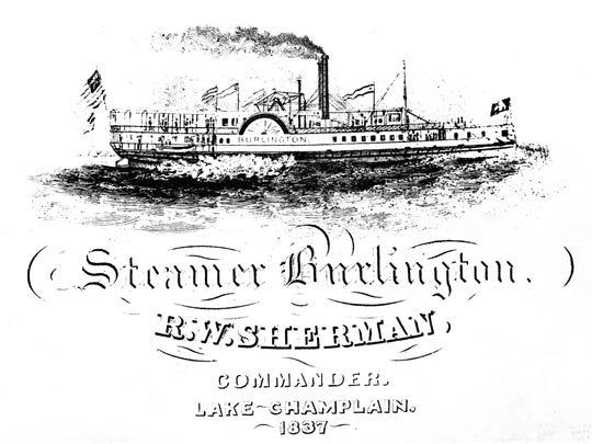The steamer Burlington.