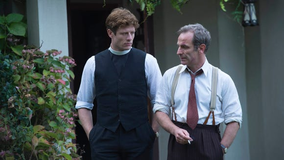 James Norton and Robson Green wrap up the second season of 'Grantchester' on PBS.