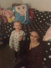 "Heather ""Helena"" Hoffmann, right, is pictured here with her daughter. Hoffmann was found dead last week after leaving her shift at the McDonald's on W. Elizabeth."