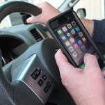 More than half of American drivers admit to using a cellphone while driving.