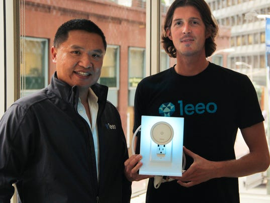 Leeo co-founders
