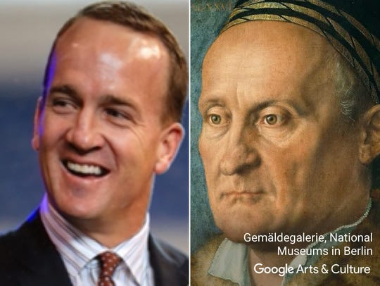"""Peyton Manning matched with """"Jakob Muffel"""" by Albrecht"""