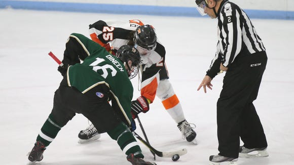 Mamaroneck's Michael Carducci and Brewster/Yorktown's