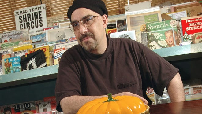 Pat DiNizio at his Scotch Plains home, thinking about the summer.