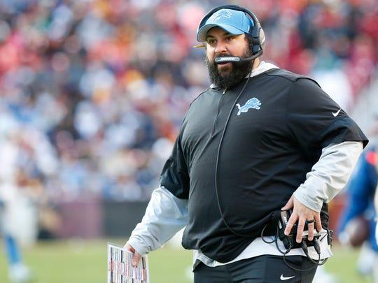 Detroit Lions coach Matt Patricia.