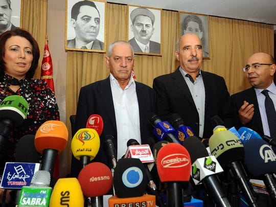 A photo taken on Sept. 21, 2013, shows then-mediators