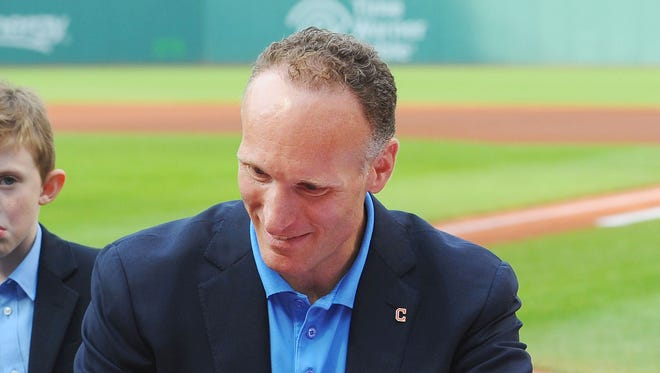 Mark Shapiro spent 24 years with the Indians organization.