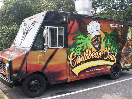 Rondell Donaldson and his fiancé, Renee Campbell, own the food truck/catering company, Caribbean Soul.