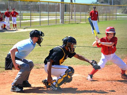 Baseball action from the Cocoa Beach Spring Training/Space