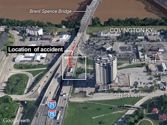 Brent Spence Bridge accident