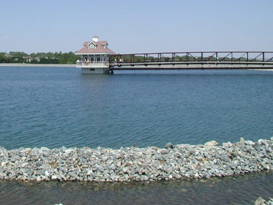 The Newark Reservoir is pictured in 2008. Newark officials