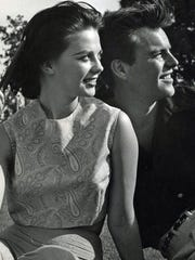 Residents of the Mesa Neighborhood Robert Wagner and Natalie Wood c.1958.