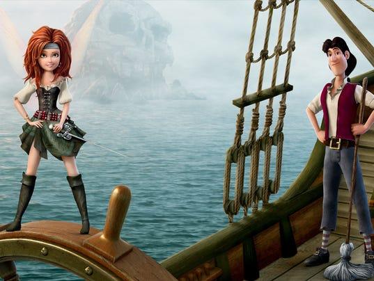 'Pirate Fairy': Zarina and James
