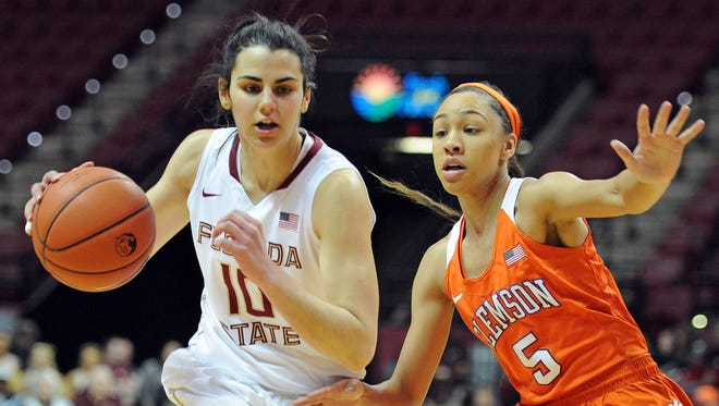 After averaging 12.5 points per game for Florida State during the 2016-17 season, Leticia Romero was drafted by the Connecticut Sun with the No. 16 pick in the WNBA Draft.