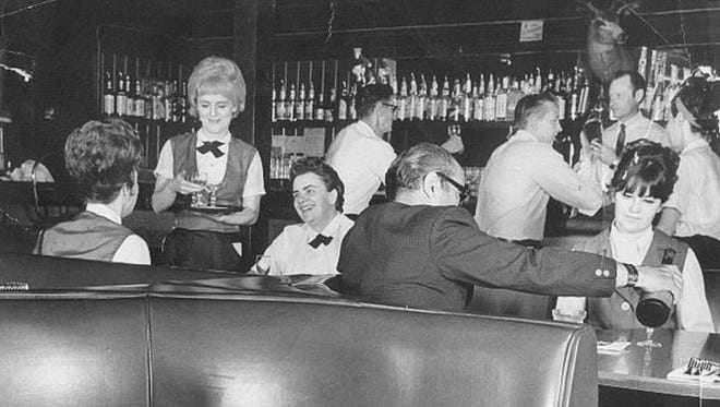 THEN: For decades Monti's was the place for politicians, marriages, parties and the place to be seen in Tempe as this photo from the 1960 reflects.