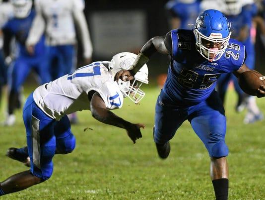High School Football: Sebastian RIver at Heritage