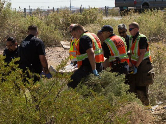 Las Cruces Firefighters and other first responders