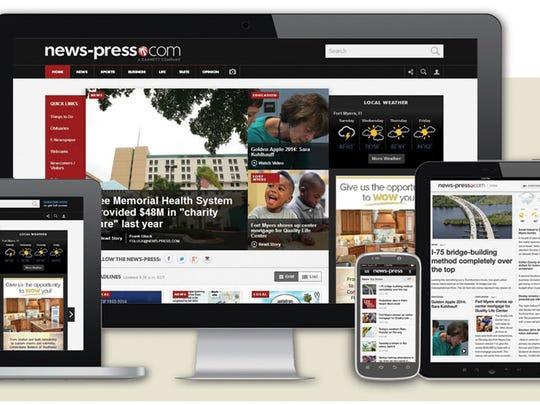 The News-Press' new and improved news-press.com.