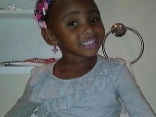 Amiracle Williams, 3, toddler slain in shooting on Detroit's east side Oct. 16, 2014.