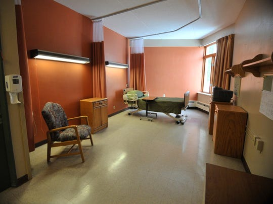 A vacant unit at North Central Health Care's Mount
