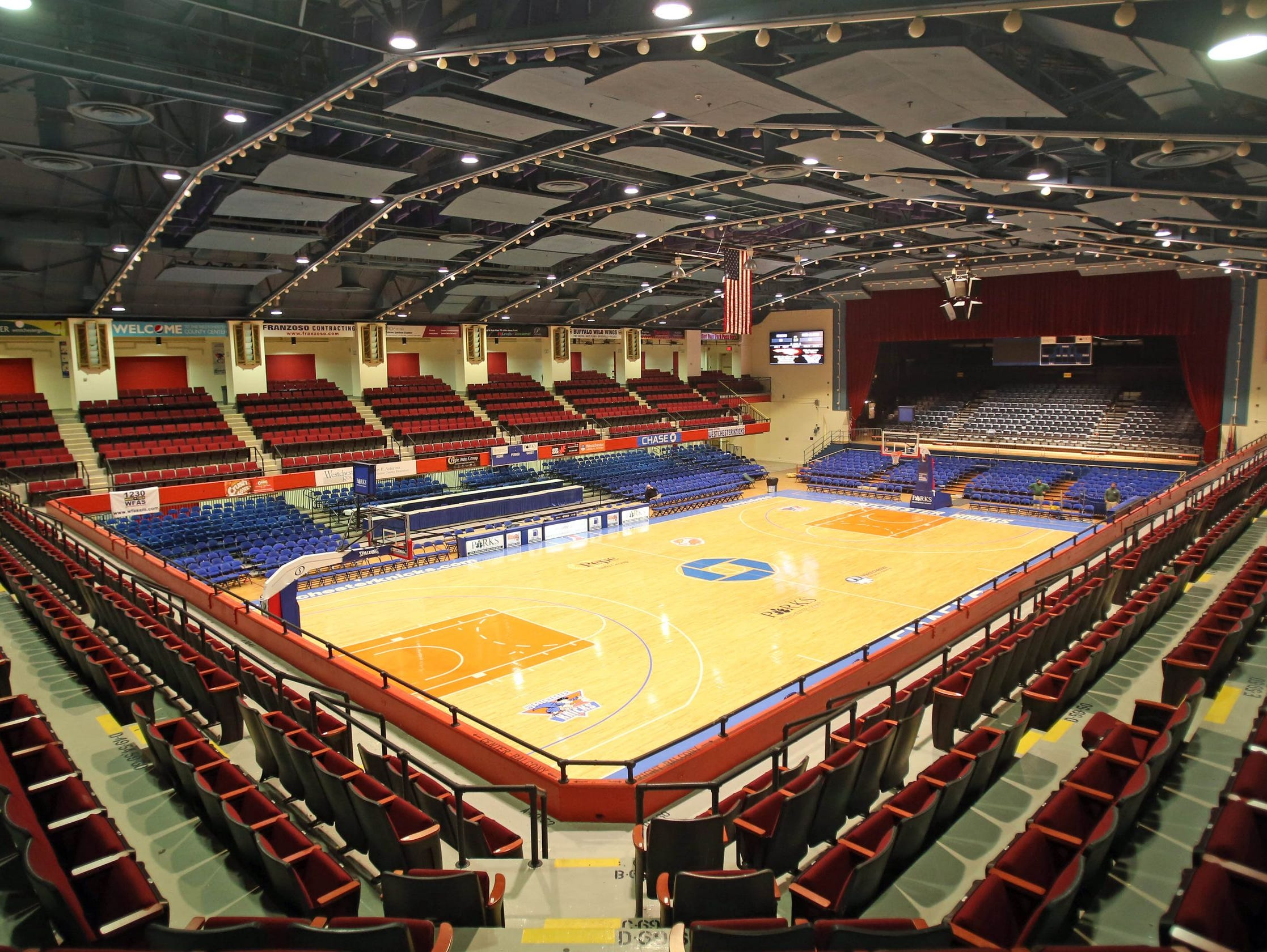 The Westchester County Center will host the Section 1 basketball tournament semifinals and finals from Feb. 22-28, 2016.