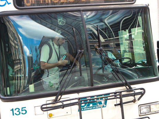 With the December launch of a real-time bus-tracking app, bus locations can be known by riders.