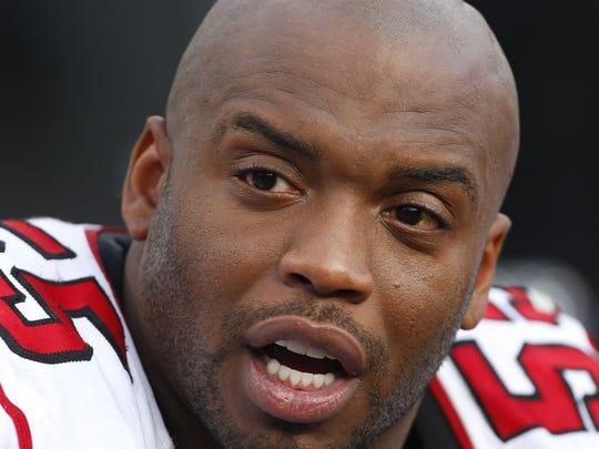 Former South Carolina and Atlanta Falcons linebacker