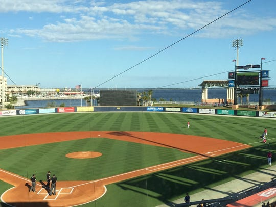 Blue Wahoos Stadium in downtown Pensacola has been