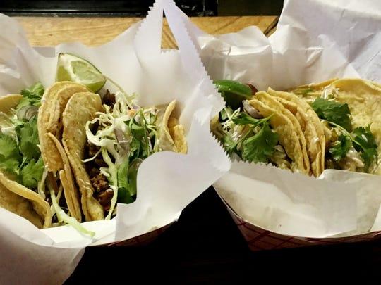 Tacos from Mas Tacos