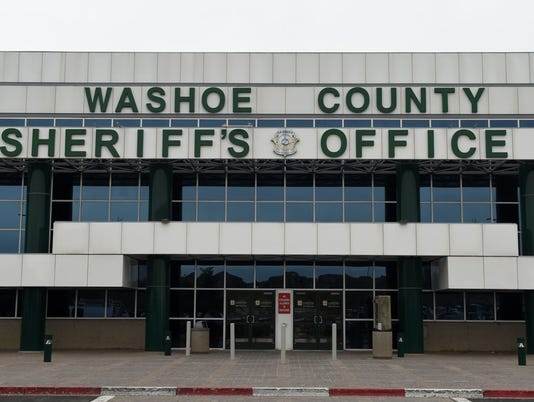 Washoe County Sheriff's Office building on Parr Boulevard