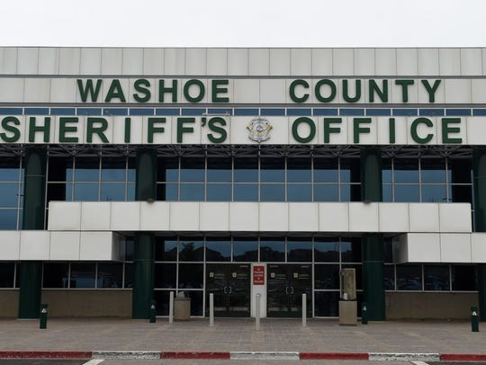 A file photo showing the front of the Washoe County